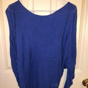 Express scoop neck sweater